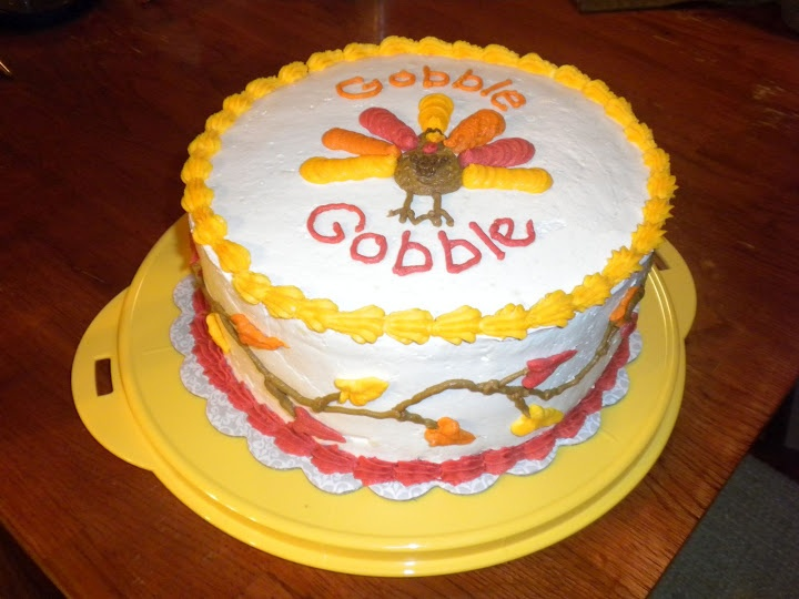 Cake Decorating Ideas For Thanksgiving : 147 best images about cake decorating on Pinterest ...