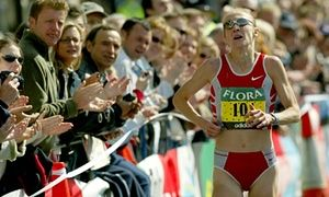 The 26th London Marathon, 13 April 2003: one extraordinary record.