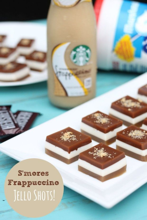 Smores Frap Jello Shots | That's So Michelle