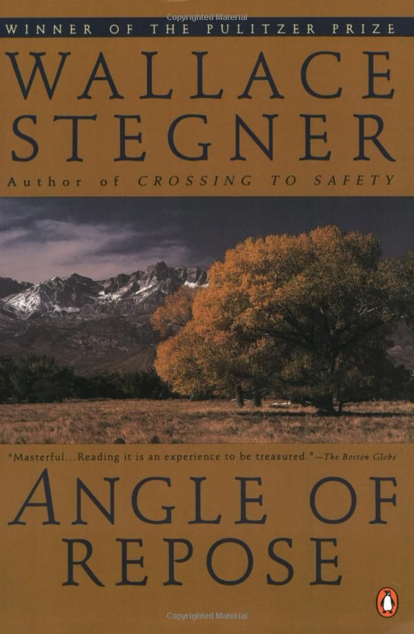 Angle of Repose (Penguin Twentieth-Century Classics): Wallace Stegner, My favorite western book!