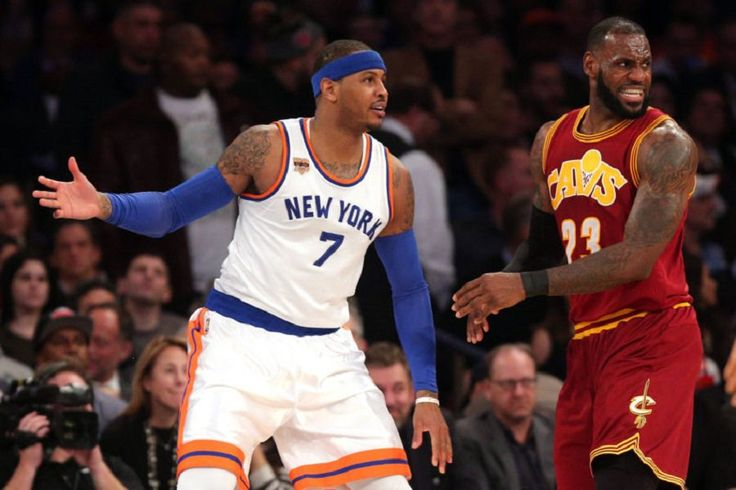 Lebron James Comments on Carmelo Anthony Trade Rumors #Basketball, #CarmeloAnthony, #Cavaliers, #Knicks, #LebronJames, #Nba celebrityinsider.org #Sports #celebrityinsider #celebrities #celebritynews #celebrity #rumors #gossip