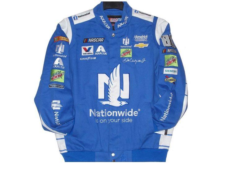 2017 Dale Earnhardt Jr. Nationwide Nascar Jacket Size XLarge