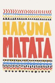 Estampa Hakuna Matata