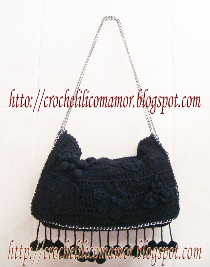 http://crochelilicomamor.blogspot.be/: Bags Patterns, Bag Patterns