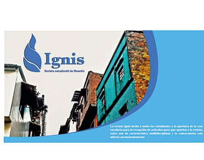 "Check out new work on my @Behance portfolio: ""banner revista ignis"" http://be.net/gallery/54440147/banner-revista-ignis"