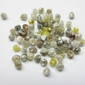 LOT OF 3.0 CT NATURAL MIXED COLOR LOOSE DIAMOND ROUGH BEADS FOR NECKLACE THAT WILL MAKE YOU LOOK REALLY GORGEOUS at wholesale price.