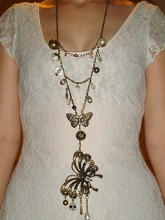 up cycled necklace