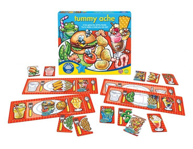 Orchard Toys - Tummy Ache Shop Online - iQToys.co.nz