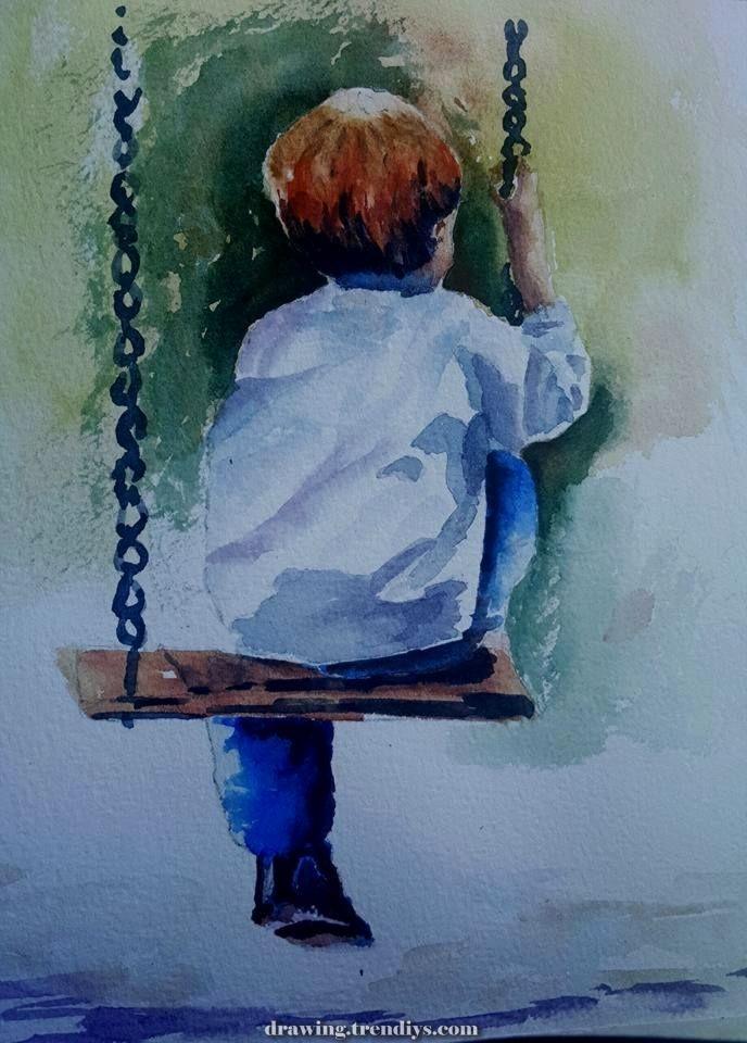 17796164 10209144589591916 2795912764157731193 N Jpg 688 960 Drawing Trendiys Com In 2020 Watercolor Art Art Painting Oil Art