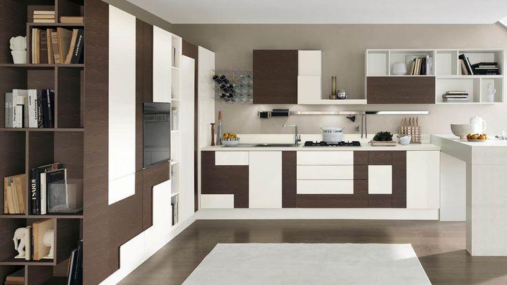 Oltre 25 fantastiche idee su moderno ad angolo su - Cucina componibile ad angolo ...