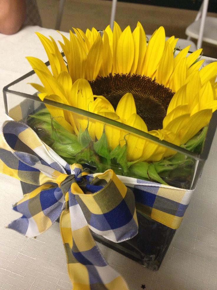 Sunflower Centerpiece Craft Ideas Pinterest