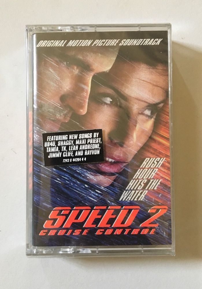 Speed 2: Cruise Control Movie Soundtrack Factory Sealed Cassette Tape 1997  | eBay