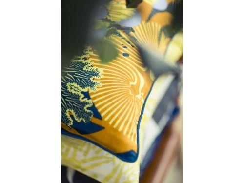 Marimekko Merivuokko Linen Cushion Cover 50x50