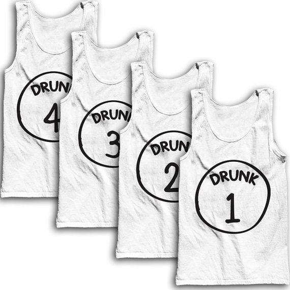 Drunks 1-4 Best Friends Tees by AwesomeBestFriendsTs #halloween