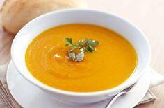 Soupe potiron minceur, une soupe riche en magnésium, et en fibres, et comme le potiron est peu calorique c'est donc la recette idéale pour vos régimes.