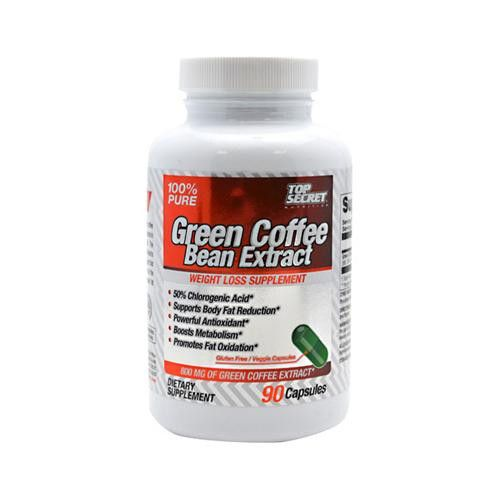 Top Secret Nutrition Green Coffee Bean Extract - 90 Capsules