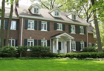 brick colors for house exterior | Red Brick Exterior Design Ideas, Pictures, Remodel, and Decor
