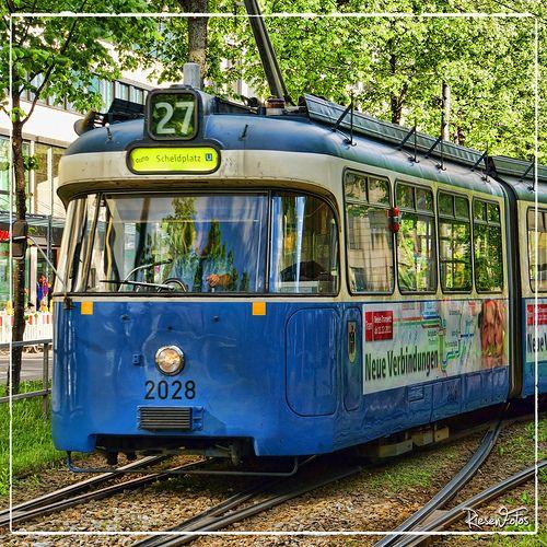 München gute alte strassenbahn