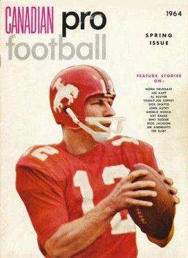 1964 Magazine Cover - Russ Jackson