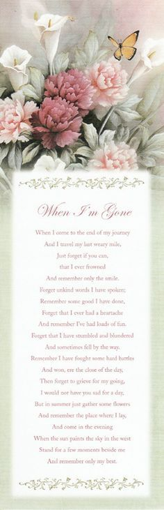 Funeral Message  No More Pain  Funeral Program Templates