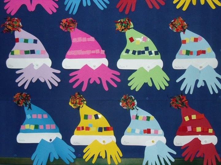 σκουφιά και γάντια