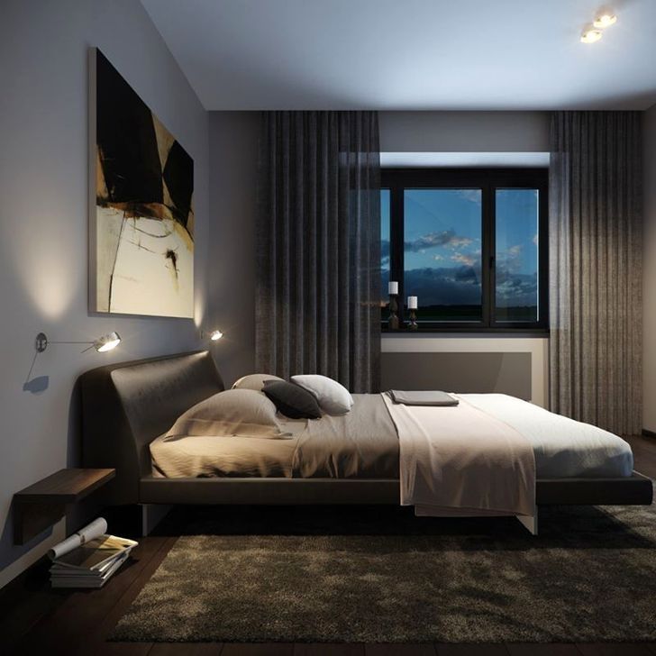 30 Cozy Single Bedroom Design Ideas For Men Decoration Chambre
