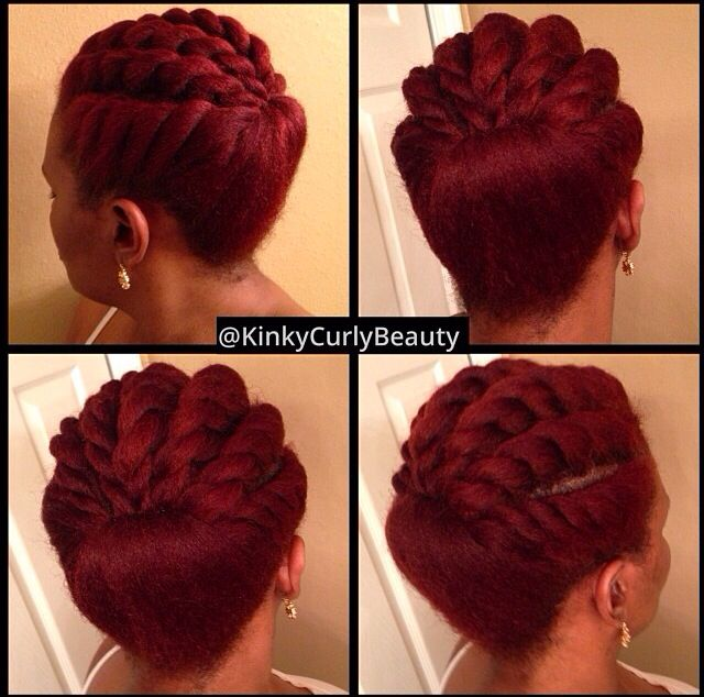 Stupendous 1000 Images About Protective Styles For Transitioning To Natural Short Hairstyles Gunalazisus