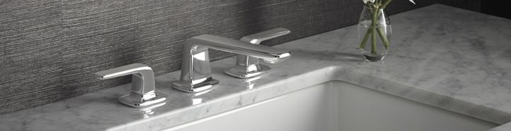 """Kallista - Per Se is a faucet collection that embodies slender, soft modern minimalism. Meaning """"in itself,"""""""