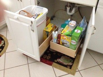 Under Sink Pull Out Shelves  cabinet and drawer organizers