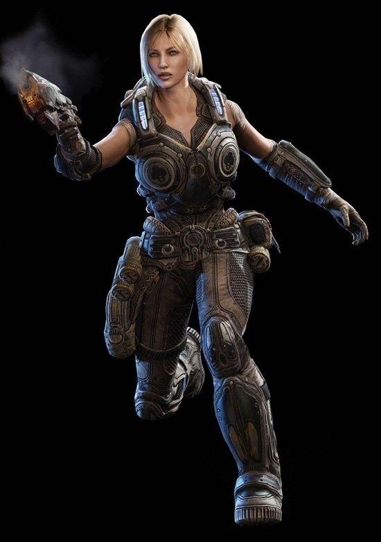 Gears of War Judgment Anya Stroud DLC  (Downloadable Content Skin)