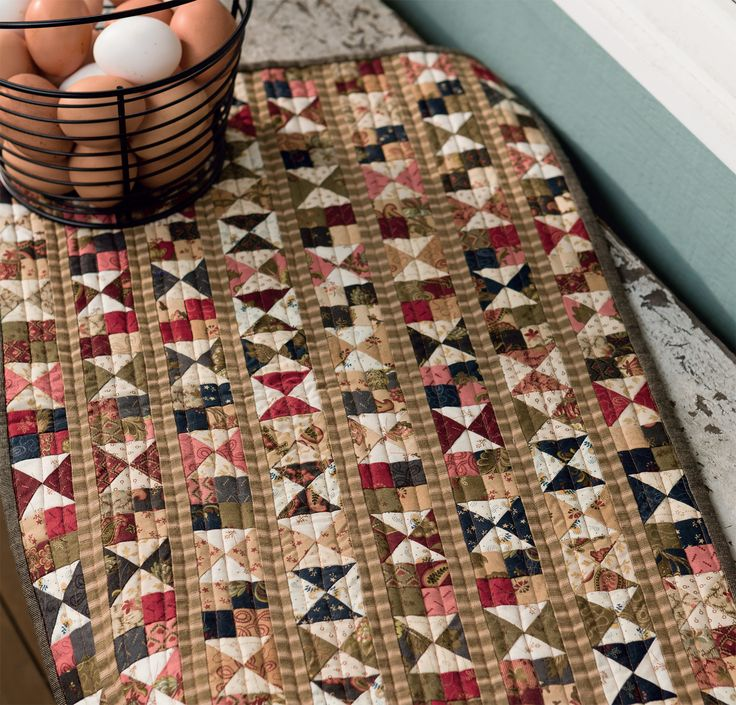 when it comes to makedo quilts a few skewed triangles and mismatched seams are all part of the charm so keep it casual when you stitch this vintage