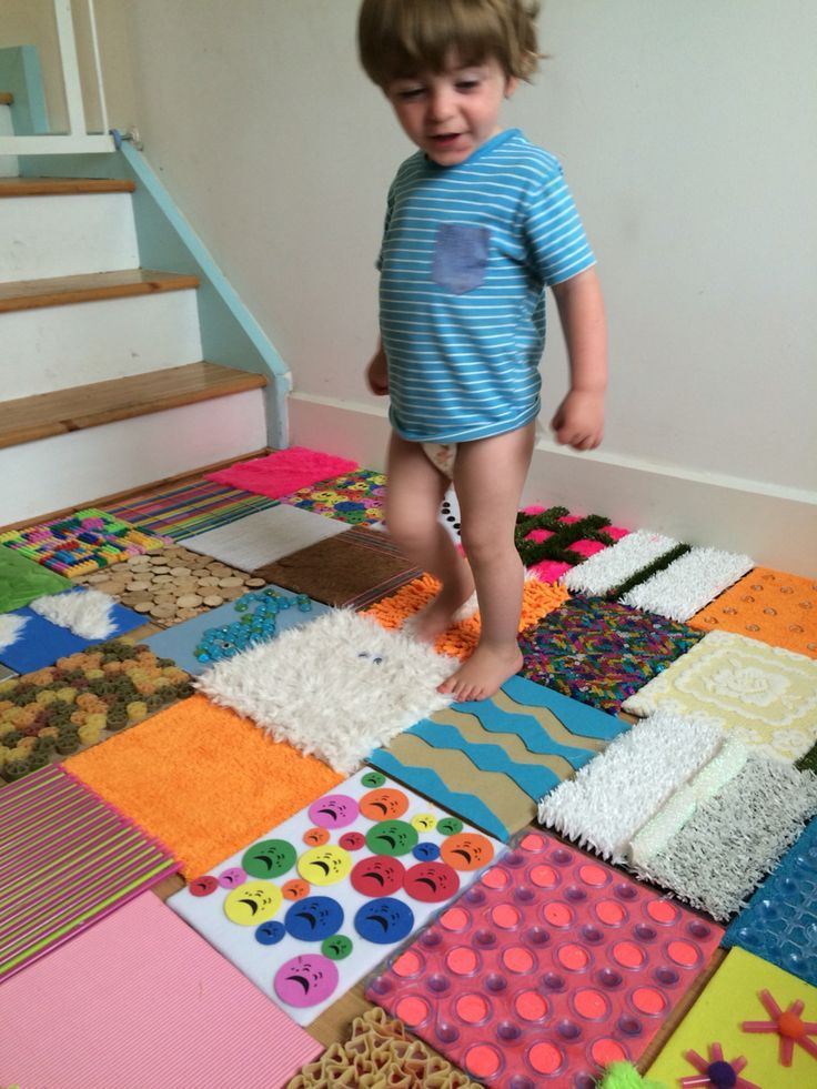 Sensory wall on the floor – #Floor #sensory #tapis…