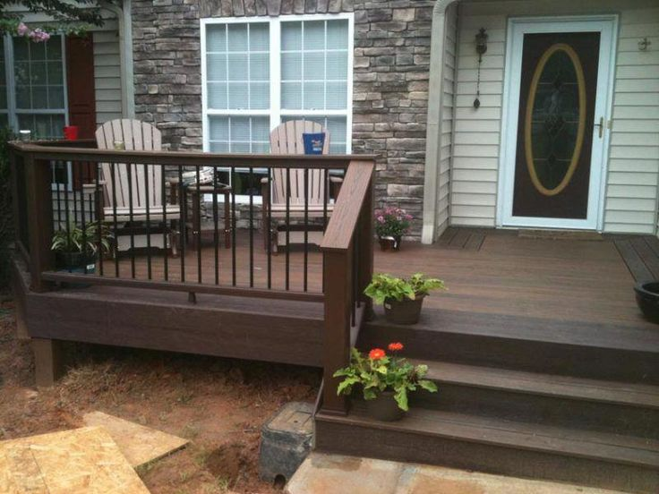 Small Deck Ideas You can use the land to create a narrow