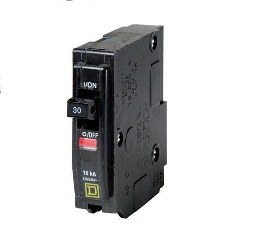 Square D Qo130cp Single Pole Circuit Breaker 30 Amp Circuit Breakers Amp