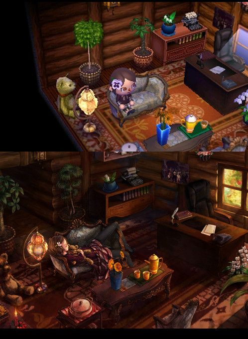 56 best images about acnl room town inspiration on for Modern house acnl