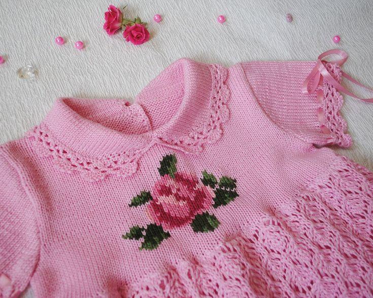 Очаровательное детское платьице с вышивкой. Обсуждение на LiveInternet - Российский Сервис Онлайн-Дневников