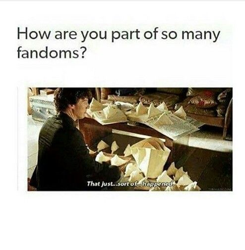 Over 40 fandoms lost count