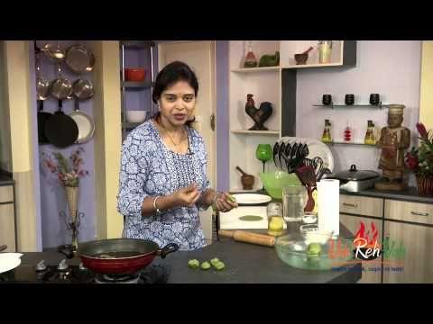 Breakfast recipe Palak poori with Multigrain Atta