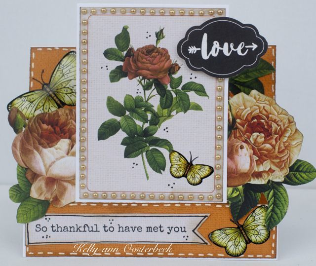 A step card by Kelly-ann Oosterbeek made using the Always & Forever Collection from Kaisercraft. www.amothersart.com.au