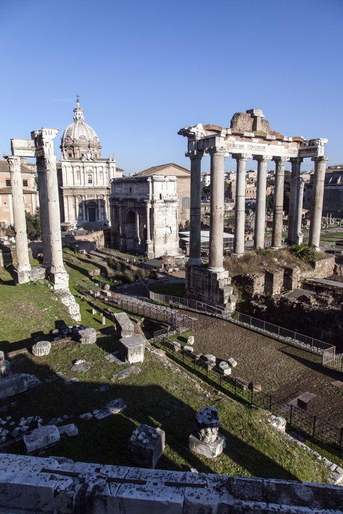 Rooma - Forum Romanum.