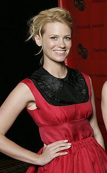 5 January, 1978 ~ January Jones,American actress and model, best known for portraying the role of Betty Draper in the television series Mad Men (2007–2015), for which she received two Golden Globe nominations and an Emmy nomination.