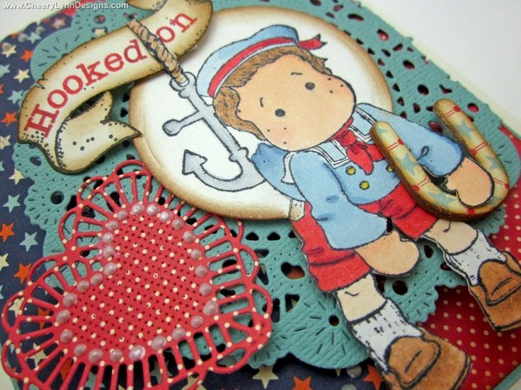 Cheery Lynn Designs - French Pastry Doily - DL102