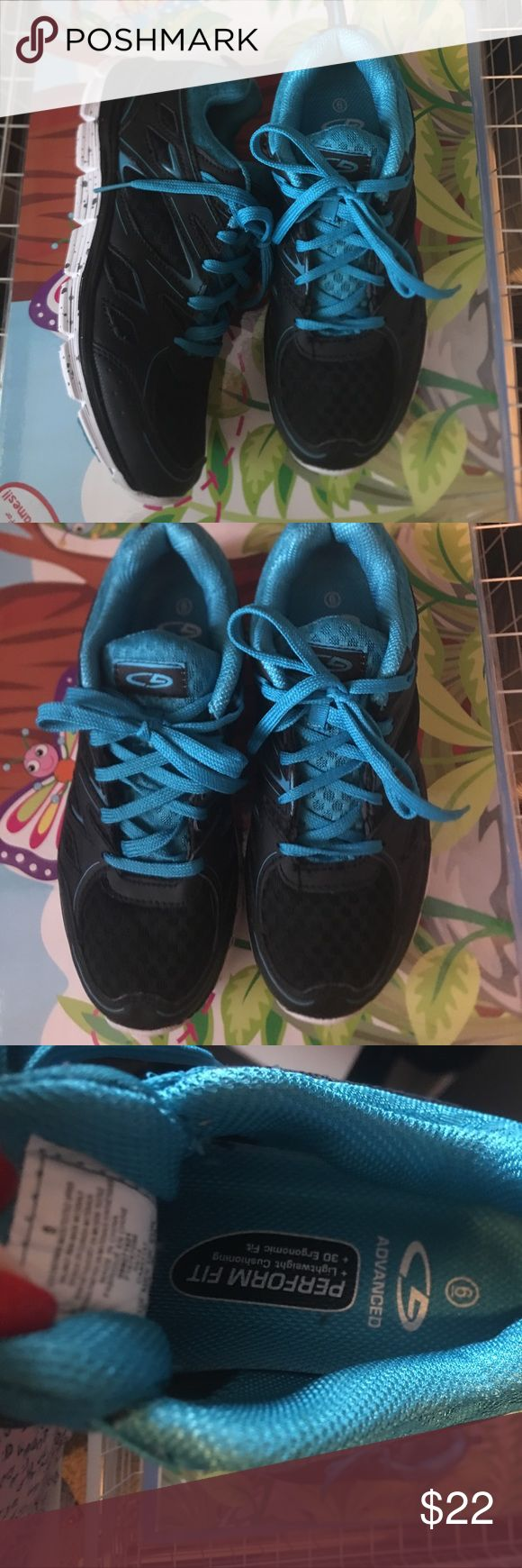 Ladies sneakers Ladies super light sneakers great for running or working out size 6 never worn Shoes Sneakers