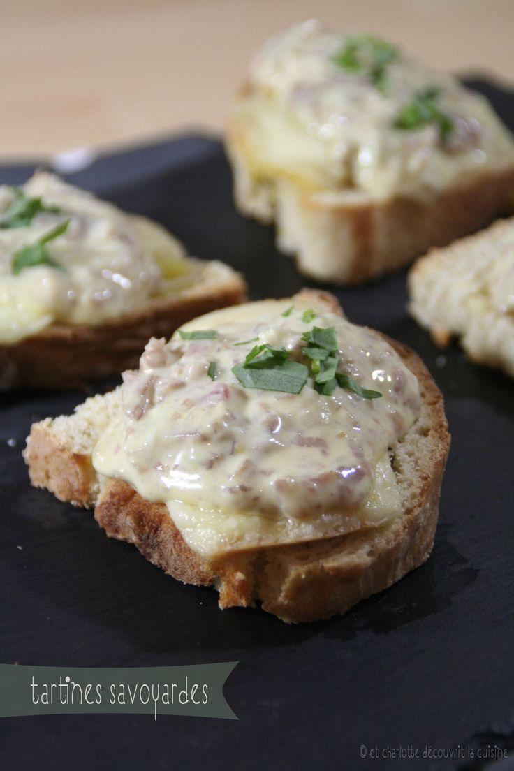 ** Tartines Savoyardes ~ Et Charlotte découvrit la Cuisine ** http://etcharlottedecouvritlacuisine.blogspot.fr/