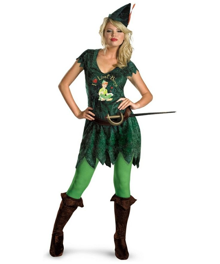 Ladies License Disney Peter Pan Costume