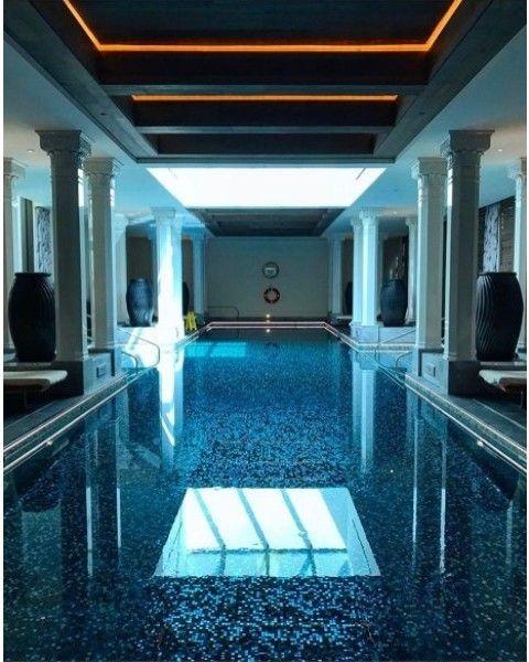 25 melhores ideias sobre piscina interna no pinterest piscinas de sonho piscinas interiores - Piscina interna casa ...