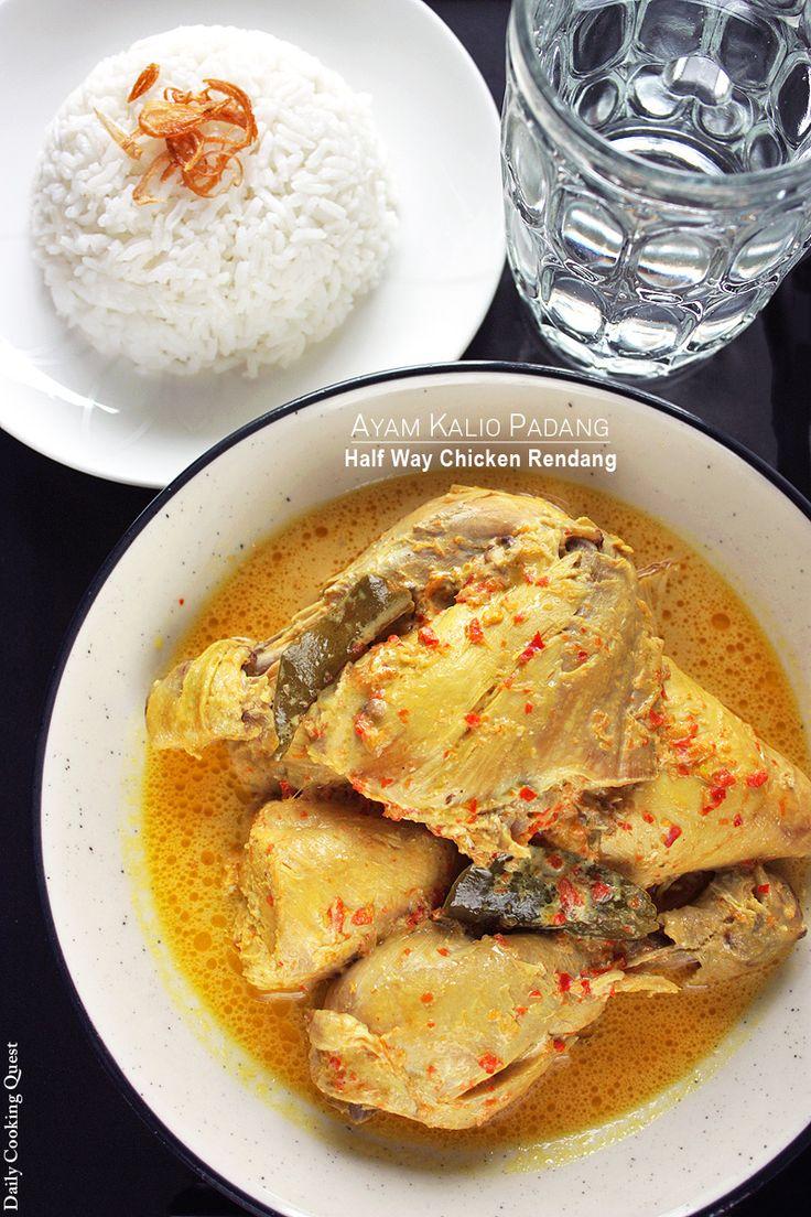 Ayam Kalio Padang - Half Way Chicken Rendang