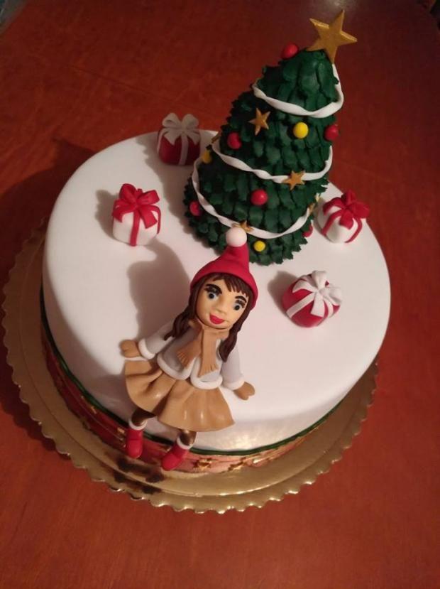 Vianočný čas si žiada vianočnú tortu:) Autorka: dasakrup. Tortyodmamy.sk.