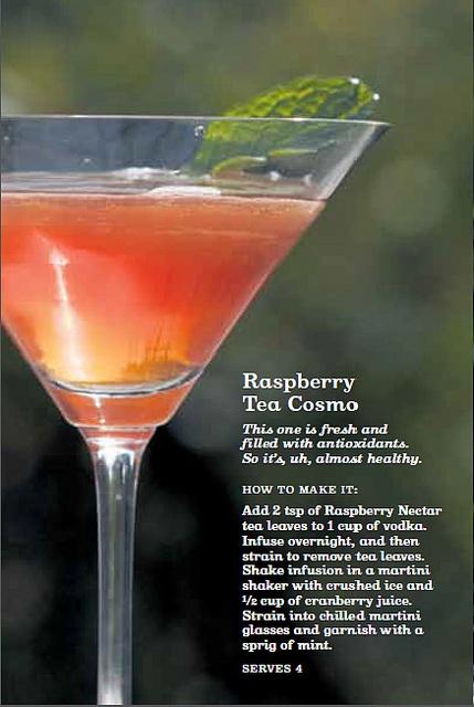 Raspberry Tea Cosmo - David'sTea