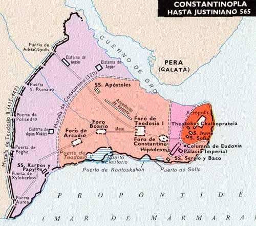Puerto de Constantinopla hasta la época de Justiniano.
